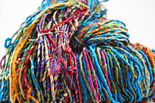Ravelry: Darn Good Yarn Recycled Resolution Sari Silk