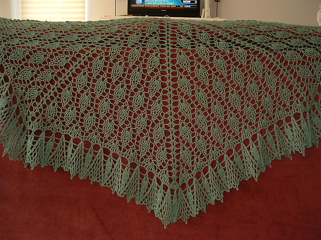 Small Talk Shawl