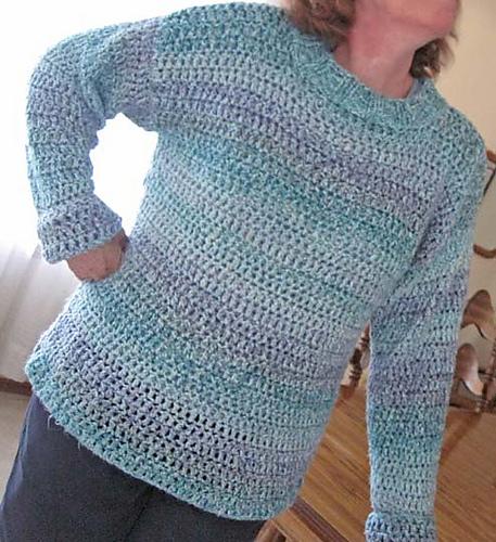 Ravelry Big Easy Crochet Sweater Pattern By Lion Brand Yarn