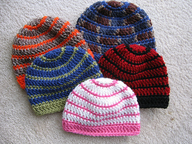 Ravelry Better Late Than Never Beanies Pattern By Kathy North