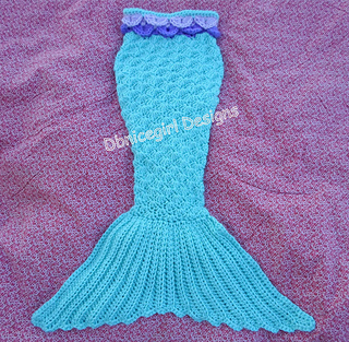 Ravelry mermaid tail pattern by dbnicegirl designs dt1010fo