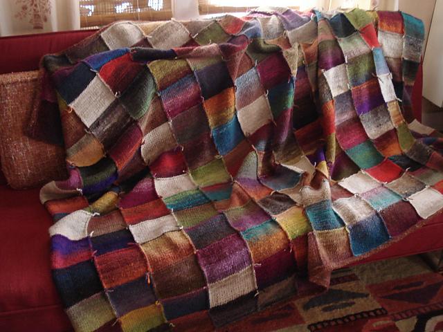 Ravelry Noro Kureyon Lap Blanket Pattern By Natasha Hopkins