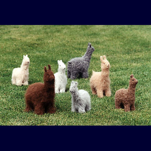 Ravelry Felted Alpacas Llamas Ft207 Pattern By Bev Galeskas