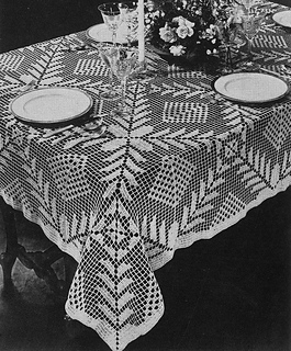Ravelry: Square-A-Day Tablecloth #7067 pattern by The Spool Cotton