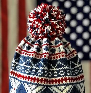 9067e79db56 Ravelry  Team USA 2018 Hat pattern by Debi Hassler