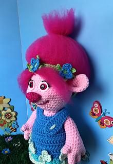 ravelry poppy troll pattern by deanna albon