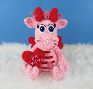 Ravelry: Valentine Dragon Pattern By Deanna Albon