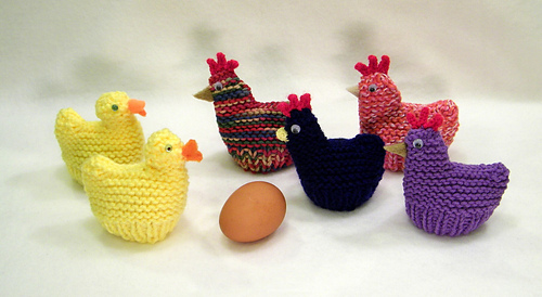 974732569 Ravelry  Chicken and Duck Egg Cozies (Easter) pattern by Claudia Lowman