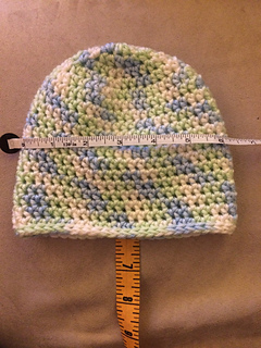 815f31601fd Ravelry  Basic Half Double Crochet Hat pattern by Rhondda Mol ...
