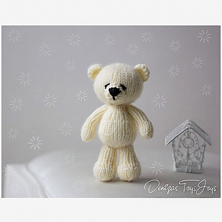 Ravelry Polar Bear Toy Pattern By Tatyana Korobkova
