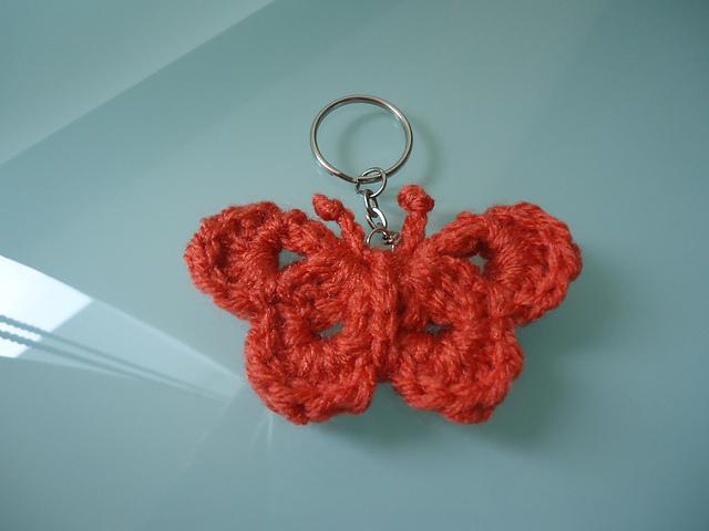 Ravelry: Butterfly Keychain pattern by Tamara Dijkstra