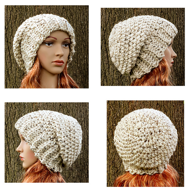 Ravelry: Quick & Easy Slouchy Hat pattern by Deby Holland