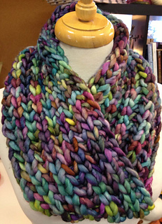 Ravelry Super Bulky Brioche Cowl With A Moebius Twist Pattern By