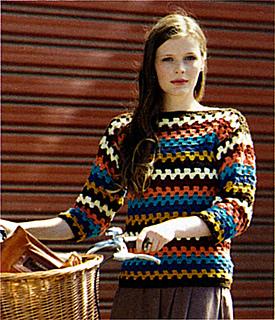 Ravelry Marvel 8ply Crochet Jumper Pattern By Spotlight