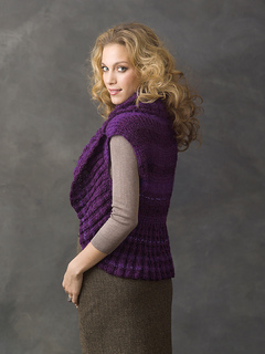 44fe25b87d814 Ravelry  Endless Circle Vest pattern by Julie Farmer