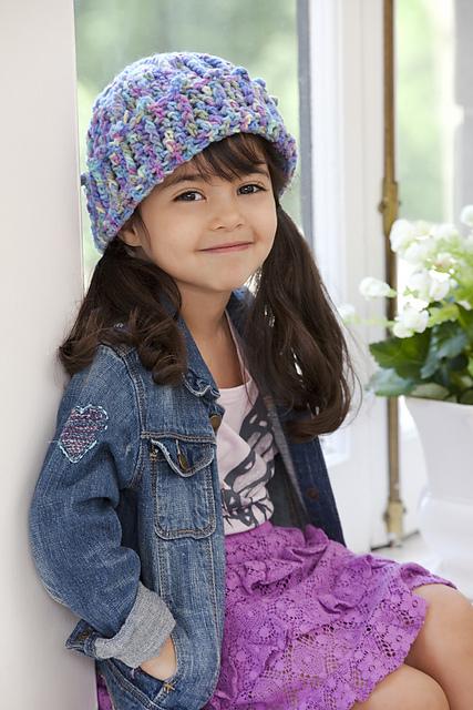 69405bb0879 Ravelry  Cuffed Cutie Hat pattern by Ann Regis
