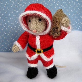 Ravelry Santa Mouse Pattern By Wendy Phillips