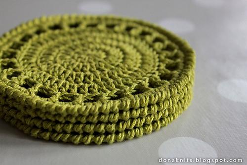 Ravelry Citrus Coaster Pattern By Dona Knits