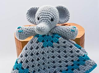Ravelry Elephant Lovey Pattern By Carolina Guzman