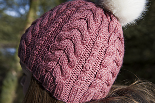 Ravelry  Cable Hat pattern by Dora Stephensen 3d7d7602829