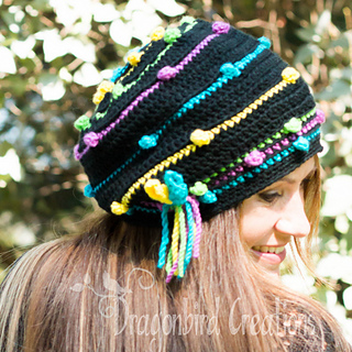 00425dd5547 Ravelry  Gumballs Slouch Hat pattern by Shawn Torres
