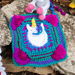 f89bf1f5070 Ravelry  Unicorn Party Square pattern by Shawn Torres