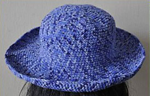 Ravelry  Brimmed Crocheted Hat pattern by Yine Hing 48e5f2cc4b3