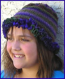 Ravelry Ruffle Hat For Kids Pattern By Barbara Breiter