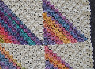 Ravelry Rainbow Dreams Baby Afghan Pattern By Gail Tanquary