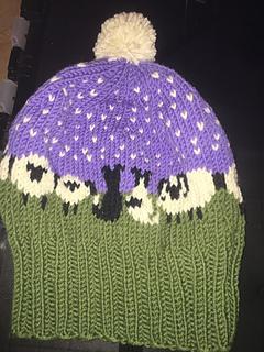 Ravelry  Border Collie   Sheep Hat Chart pattern by Meg Warren 3b40dbfd754