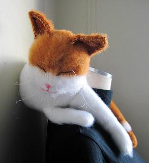 Ravelry Belang The Neck Pillow Cat Pattern By Dyah Dyanita
