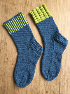 Ravelry: Solitude Hiking Socks pattern by Evelyn A. Clark