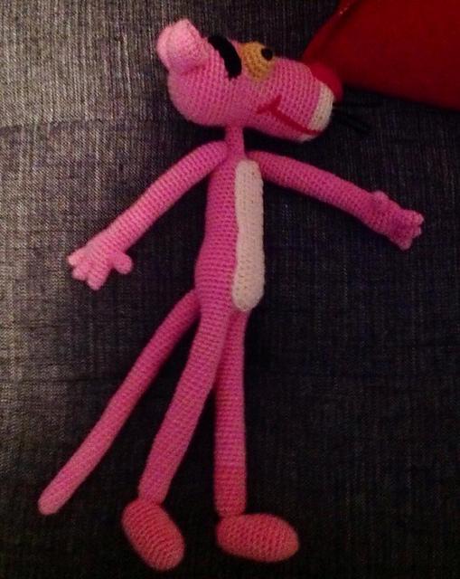 Ravelry: Pink Panther Amigurumi pattern by Edward Yong
