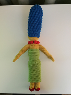 0f4c0fadc Ravelry: Marge Simpson pattern by Edward Yong