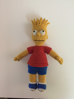 bd58409ee Ravelry: Bart Simpson pattern by Edward Yong