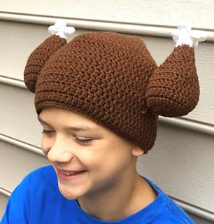 8050001d636 Ravelry  Turkey Trot Hat pattern by Elena Litvintsev