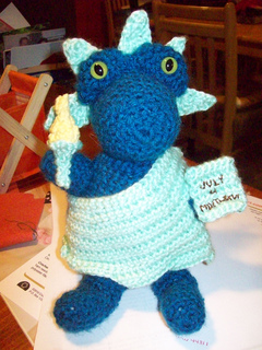 Ravelry Liberty Dragon Of The Month July Pattern By Elizabeth Harac