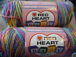 Ravelry Red Heart Baby Sport Pompadour Multi Amp Print
