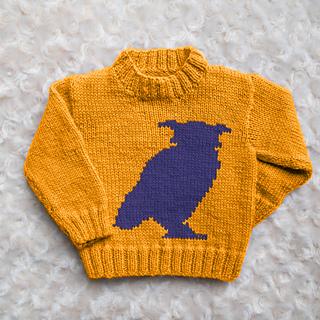 55f83d0e3 Ravelry  Instarsia Owl Silhouette pattern by Emma Heywood