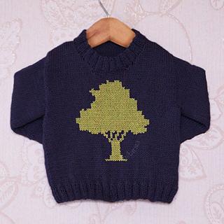 34374bddc Ravelry  Tree Silhouette pattern by Emma Heywood