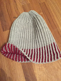 c1f26473dd8 Ravelry  Color-Dipped Hat by Machine pattern by The Fabulous E