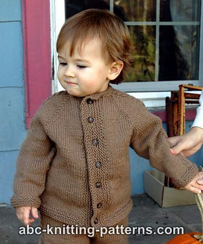 Ravelry: Easy Cable Seamless Child\'s Cardigan pattern by Elaine Phillips