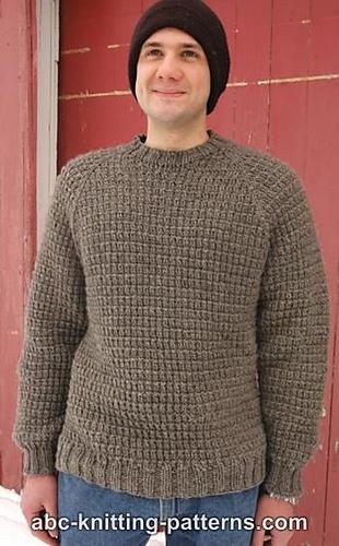 Ravelry Mens Raglan Woodsman Sweater Pattern By Elaine Phillips