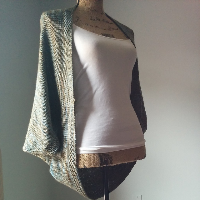 Ravelry Simple Knit Shrug Pattern By Purl Avenue
