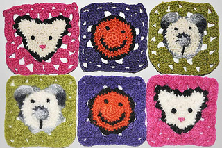 Ravelry Granny Square Mouse Pattern By Elizzza Wetsch