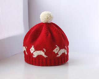 1e63117168c Ravelry  Westie Hat pattern by Eline Oftedal