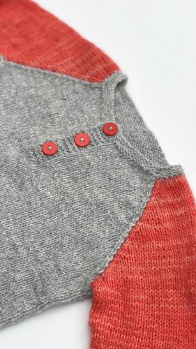 3907edc00 Tofarget bestefargenser til barn pattern by Strikkelisa