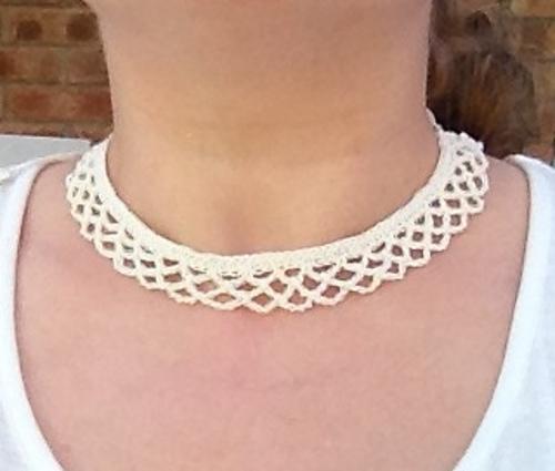 Ravelry: Crochet Collar Necklace pattern by Mel Paton
