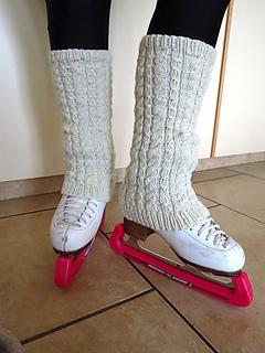 Ravelry Ashton Figure Skating Leg Warmers Pattern By