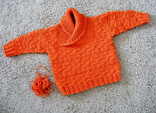 097f6a4a8c26 Craft Passions  busy baby boy sweater   hat Free  Knitting pattern ...